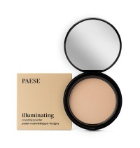 PAESE Illuminating Covering Powder – Pudra compacta iluminatoare 9g