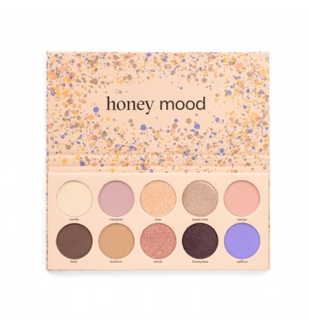 PAESE Honey Mood Eyeshadow Palette - Paleta de farduri Honey Mood 15g